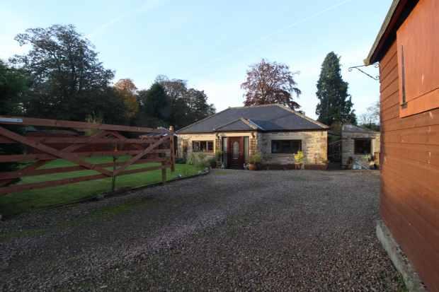 3 Bedrooms Bungalow for sale in Powburn, Alnwick, Northumberland, NE66 4HW