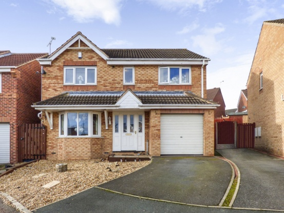 4 Bedrooms Detached House for sale in Kingsley Drive, Castleford, West Yorkshire, WF10 3PS