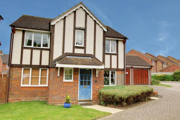 4 Bedrooms Detached House for sale in Neptune Gate, Stevenage, Hertfordshire, SG2 7SH