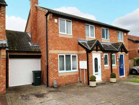 3 Bedrooms Semi Detached House for sale in Shirlaw Close, Newcastle, Tyne And Wear, NE5 4DG