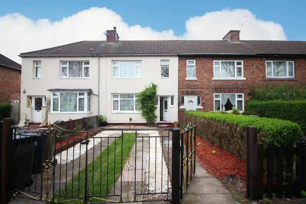 2 Bedrooms Terraced House for sale in Kettell Avenue, Crewe, Cheshire, CW1 3NJ