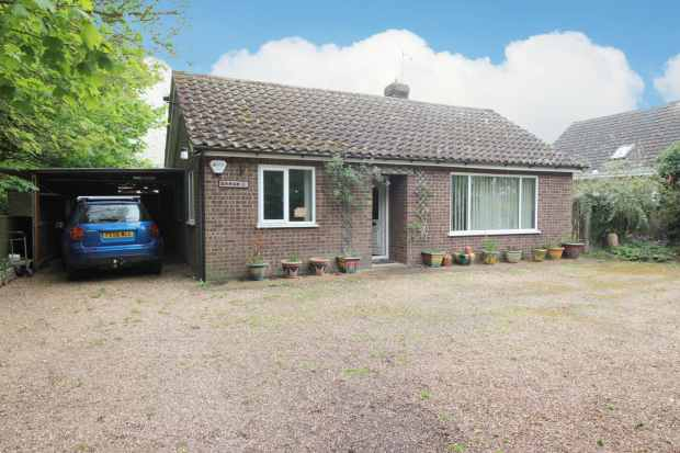 3 Bedrooms Detached Bungalow for sale in Saltfleet Road, Mablethorpe, Lincolnshire, LN12 1NS