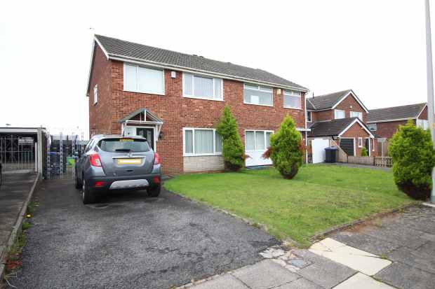 3 Bedrooms Semi Detached House for sale in Catforth Avenue, Blackpool, Lancashire, FY4 4SF