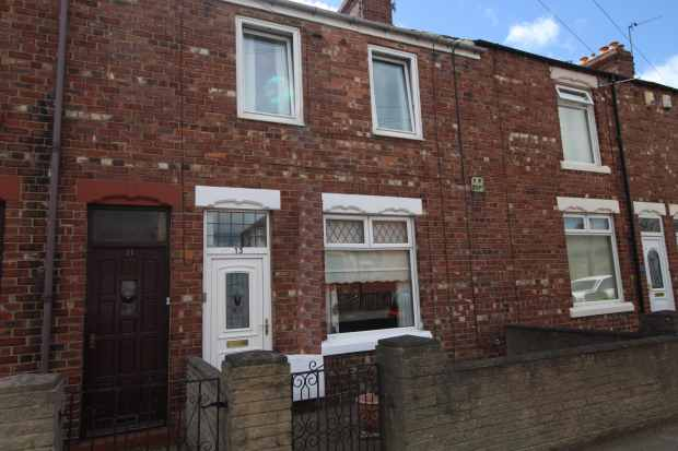 3 Bedrooms Terraced House for sale in Rutland Avenue, Bishop Auckland, Durham, DL14 6AY