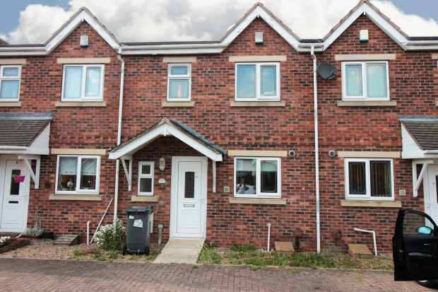 2 Bedrooms Terraced House for sale in Haslemere Court, Doncaster, South Yorkshire, DN5 9GD