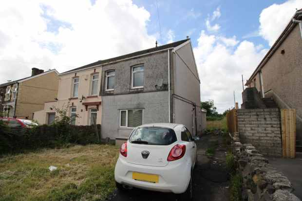 2 Bedrooms Semi Detached House for sale in Llanerch Road, Swansea, Glamorgan, SA1 7AY