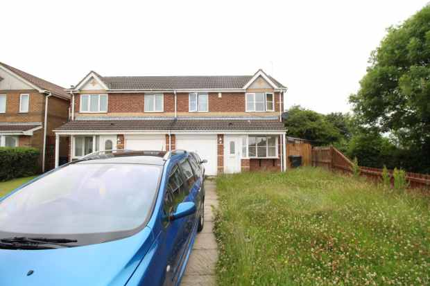 3 Bedrooms Semi Detached House for sale in Hambleton Road, Bishop Auckland, Durham, DL14 8LE