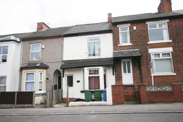 2 Bedrooms Terraced House for sale in Broxtowe Drive, Mansfield, Nottinghamshire, NG18 2JF