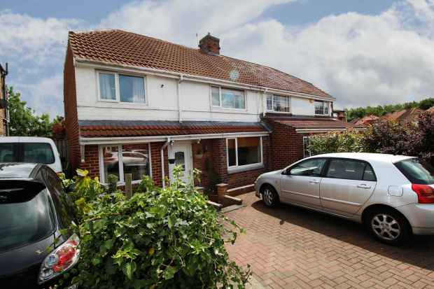 3 Bedrooms Semi Detached House for sale in Cragside Gardens, Gateshead, Tyne And Wear, NE11 0AQ