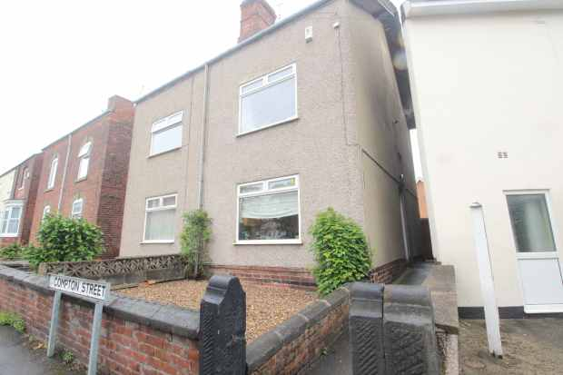 3 Bedrooms Semi Detached House for sale in Compton Street, Chesterfield, Derbyshire, S40 4TA
