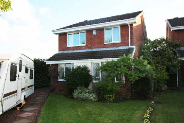 4 Bedrooms Detached House for sale in Dykelands Way, South Shields, Tyne And Wear, NE34 9HA