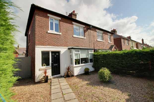 3 Bedrooms Semi Detached House for sale in Holmefield Road, Lytham St Annes, Lancashire, FY8 1JY