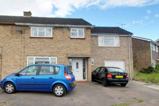 4 Bedrooms Semi Detached House for sale in Angus Drive, Milton Keynes, Buckinghamshire, MK3 7ND