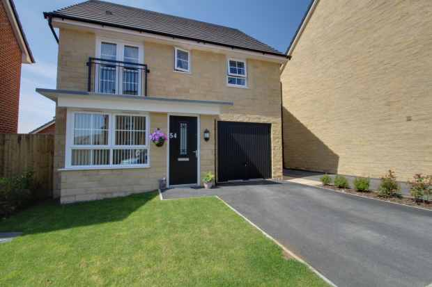 4 Bedrooms Detached House for sale in Africa Drive, Lancaster, Lancashire, LA1 5TZ