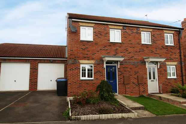 2 Bedrooms Semi Detached House for sale in Studley Drive, Spennymoor, Durham, DL16 7GB