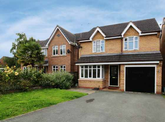 3 Bedrooms Detached House for sale in Hartwell Grove, Winsford, Cheshire, CW7 3UR