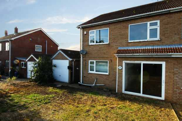 3 Bedrooms Semi Detached House for sale in Roman Bank, Spalding, Lincolnshire, PE12 8BX