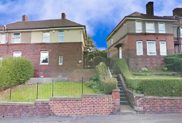 2 Bedrooms Semi Detached House for sale in Pollard Crescent, Sheffield, West Yorkshire, S5 8QB