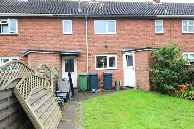 3 Bedrooms Terraced House for sale in Langford Green, Shrewsbury, Shropshire, SY1 3JP