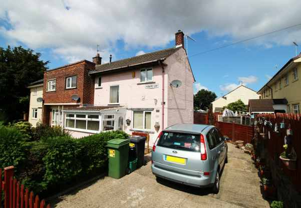 3 Bedrooms Semi Detached House for sale in Havard Way, Wrexham, Clwyd, LL13 9LR
