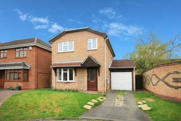 3 Bedrooms Detached House for sale in Templar Close, Derby, Derbyshire, DE24 3EL