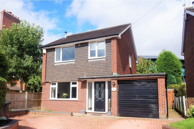 3 Bedrooms Detached House for sale in Belgrave Road, Newcastle-Under-Lyme, Staffordshire, ST5 1LR