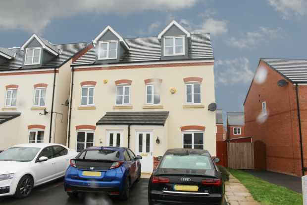 3 Bedrooms Semi Detached House for sale in Vulcan Park Way, Newton-Le-Willows, Merseyside, WA12 8AF