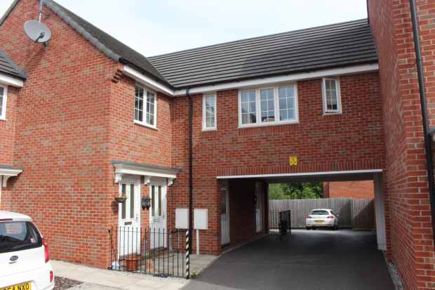 2 Bedrooms Apartment Flat for sale in Buckland Close, Sutton-In-Ashfield, Nottinghamshire, NG17 5LY