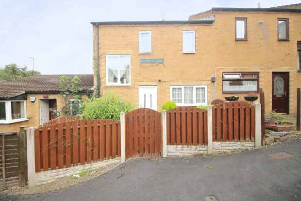 2 Bedrooms Terraced House for sale in Plantin Rise, Halfway, South Yorkshire, S20 4TG