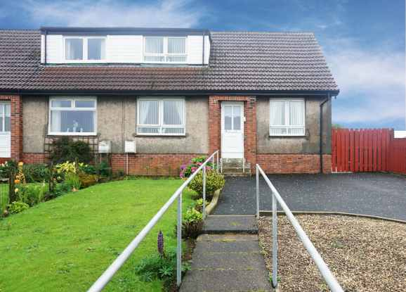 3 Bedrooms Semi Detached House for sale in Baillie Drive, Cumnock, Ayrshire, KA18 3HS