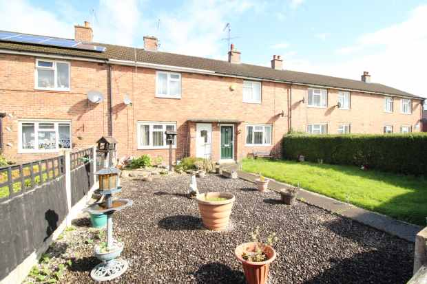 2 Bedrooms Terraced House for sale in Y-Wern, Wrexham, Clwyd, LL13 8TY
