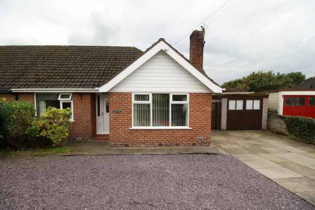 2 Bedrooms Semi Detached Bungalow for sale in Mond Street, Northwich, Cheshire, CW8 4LA