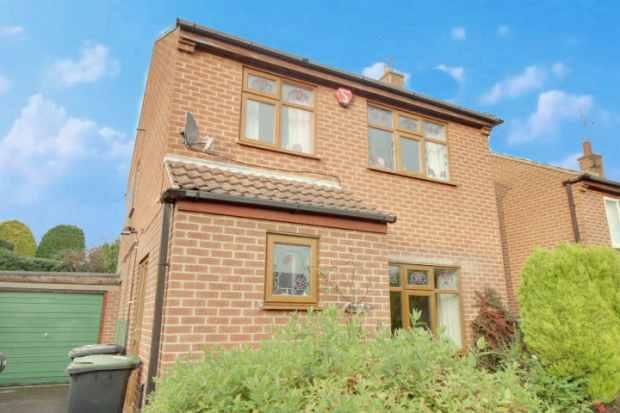 3 Bedrooms Detached House for sale in Harcourt Crescent, Nottingham, Nottinghamshire, NG16 1AZ