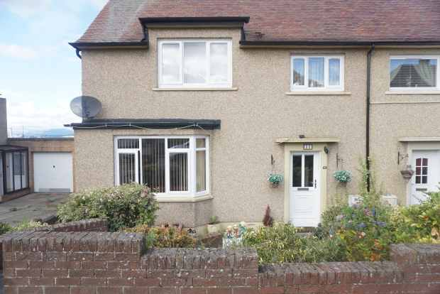 2 Bedrooms Semi Detached House for sale in Jamieson Avenue, Bo'ness, West Lothian, EH51 0JT