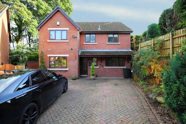 4 Bedrooms Detached House for sale in Tenterhill Lane, Rochdale, Greater Manchester, OL11 5TY