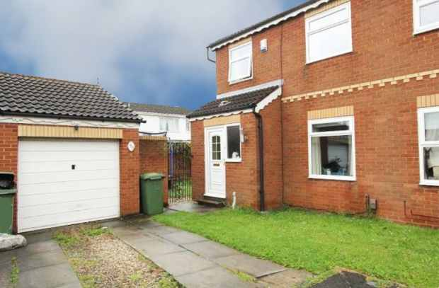 3 Bedrooms Semi Detached House for sale in Bracknell Road, Stockton-On-Tees, Cleveland, TS17 9AU