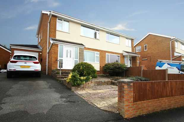 3 Bedrooms Semi Detached House for sale in Ash Grove, Mold, Clwyd, CH7 6YA