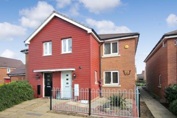 2 Bedrooms Semi Detached House for sale in Lares Avenue, South Peterborough, Cambridgeshire, PE2 8GJ