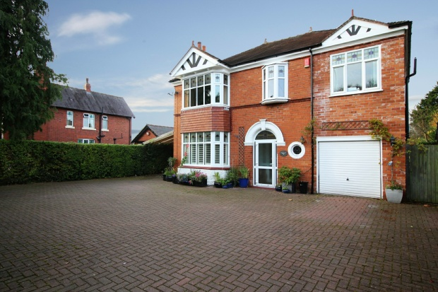 5 Bedrooms Detached House for sale in Crewe Road, Crewe, Cheshire, CW2 6QU