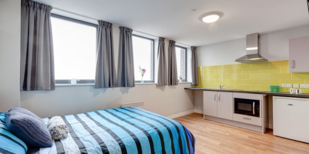 1 Bedroom Studio Flat for sale in Queen Street, Sheffield, South Yorkshire, S1 2DW