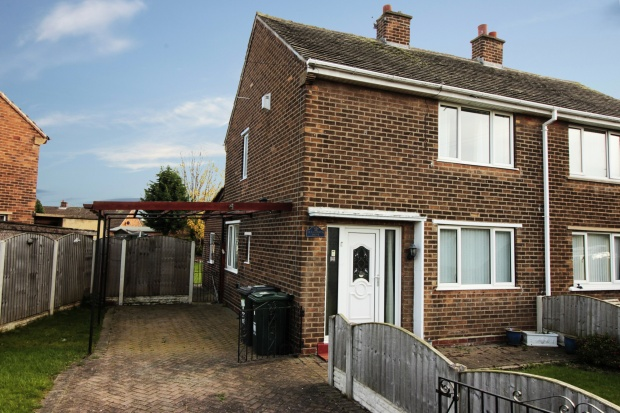 2 Bedrooms Semi Detached House for sale in Laburnum Drive, Doncaster, South Yorkshire, DN3 3HF