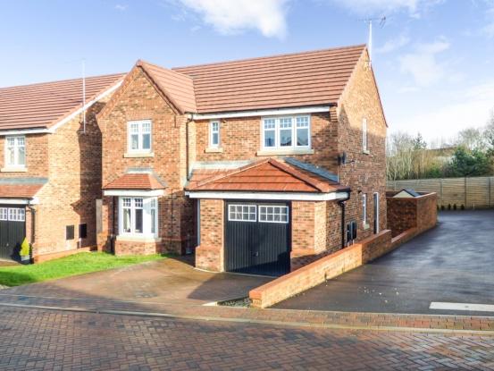 4 Bedrooms Detached House for sale in Nightingale Grove, Alfreton, Derbyshire, DE55 2GG