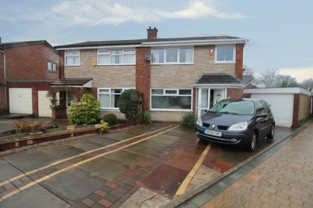 3 Bedrooms Semi Detached House for sale in Chilton Drive, Middleton, Greater Manchester, M24 2LQ