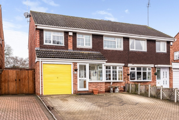 5 Bedrooms Semi Detached House for sale in Granby Close, Redditch, Worcestershire, B98 0PJ