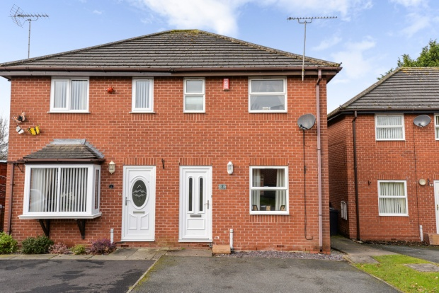 2 Bedrooms Semi Detached House for sale in Old Gorse Close, Crewe, Cheshire, CW2 8NZ