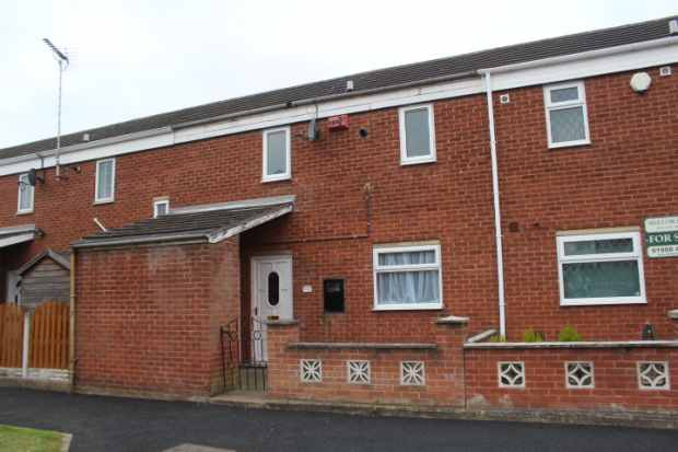 2 Bedrooms Town House for sale in Sunny Mede, Worksop, Nottinghamshire, S81 0SJ