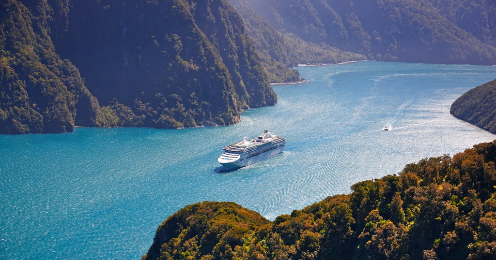 Milford Sound cruising - Sea Princess