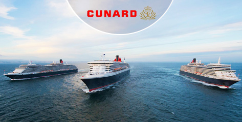 Cunard Relaxing Days, Glamorous Nights