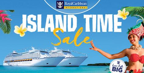 Royal Caribbean Island Time Sale