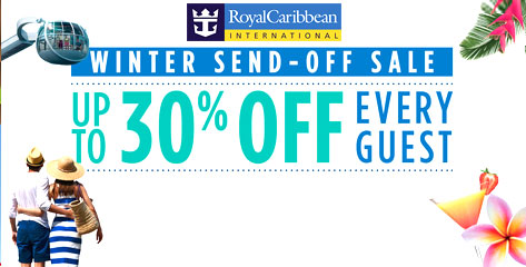 Royal Caribbean Winter Send-Off Sale